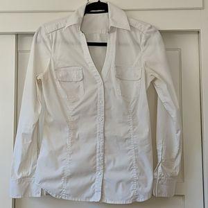 Express White Dress Shirt